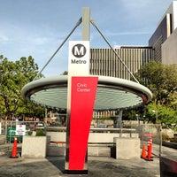 Photo taken at Civic Center Metro Station by Jamison N. on 1/9/2013