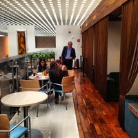 Photo taken at The Centurion Lounge by American Express by Jamison N. on 5/8/2013