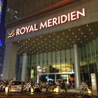 Photo taken at Le Royal Méridien Shanghai | 上海世茂皇家艾美酒店 by Jamison N. on 3/21/2013