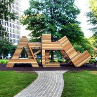 Photo taken at Robert W. Woodruff Park by Jamison N. on 7/30/2013
