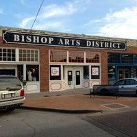 Photo taken at Bishop Arts District by Jamison N. on 6/21/2013
