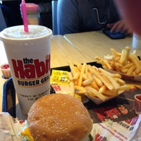 Photo taken at The Habit Burger Grill by Jennifer M. on 7/6/2013