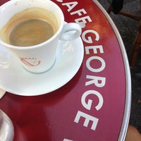 Photo taken at Café George V by Gamze G. on 7/19/2013