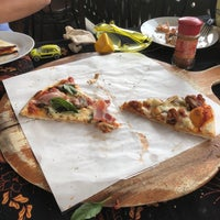 Photo taken at Street Pizza Wood Fired Oven by Forrest S. on 2/23/2018