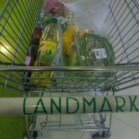 Photo taken at The Landmark Supermarket by Bok P. on 11/7/2012