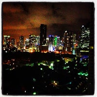 Photo taken at Brickell Place Marina by Luis D. on 7/2/2013