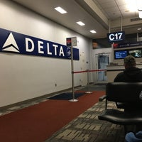 Photo taken at Gate C17 by Sandy A. on 2/27/2017