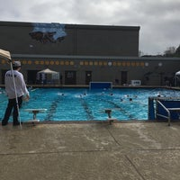 Photo taken at Aliso Niguel High School Pool Deck by Sandy A. on 2/19/2017