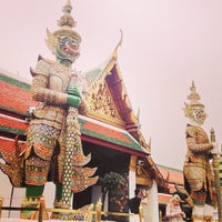 Photo taken at Temple of the Emerald Buddha by iNann on 2/3/2013