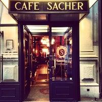 Photo taken at Café Sacher by Evgeny on 4/14/2013