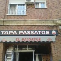 Photo taken at Bar El Passatge by Na Bayolet A. on 8/2/2013