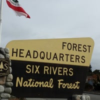 Photo taken at Forest Headquarters Six Rivers Natl Forest by Teresa B. on 8/30/2014