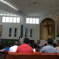 Photo taken at Catedral de Cancún by Oscar C. on 10/29/2017