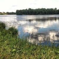 Photo taken at Озеро Сювеярви (Хиттоловское) by Alexandra E. on 7/2/2013