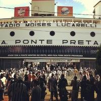Photo taken at Estádio Moisés Lucarelli by Rajesh D. on 4/7/2013