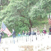 Photo taken at Evergreen Cemetery by Kai on 5/27/2013