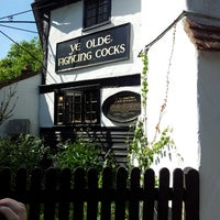Photo taken at Ye Olde Fighting Cocks by Mike H. on 5/27/2013