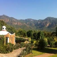 Photo taken at Quinta Los Pinos by Aldo on 11/9/2012