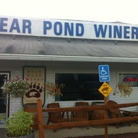 Photo taken at Bear Pond Winery by Katie K. on 7/18/2013