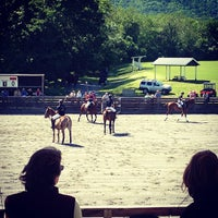Photo taken at Virginia International Polo by Brittany C. on 5/26/2013