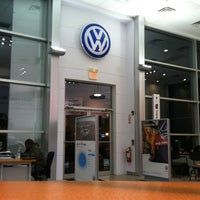 Photo taken at Palisades Volkswagen by Alyssa C. on 1/16/2013