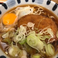 Photo taken at そば新 お茶の水店 by t5a t. on 3/26/2018