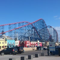 Photo taken at Blackpool Pleasure Beach by Noel T. on 6/15/2013