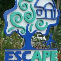 Photo taken at ESCAPE by Esna S. on 2/24/2013