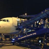 Photo taken at Kempegowda International Airport (BLR) by Wasim M. on 3/15/2013