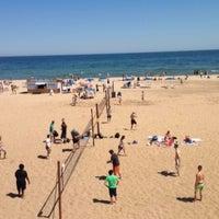 Photo taken at Bradford Beach by Steph M. on 5/25/2014