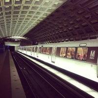 Photo taken at Metro Center Metro Station by Andrew S. on 3/9/2013