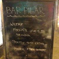 Das Foto wurde bei Bar Pilar von Christina A. am 1/28/2013 aufgenommen