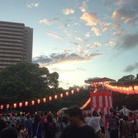 Photo taken at 松戸中央公園 by Takuya N. on 8/30/2014