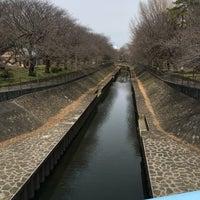 Photo taken at 尾崎橋 by ヒカル on 3/18/2017