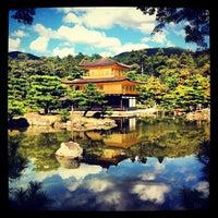 Photo taken at Kinkaku-ji Temple by Kira A. on 10/9/2012