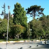Foto tomada en Plaza Ñuñoa por Maryposa el 11/4/2012