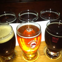 Photo taken at Deschutes Brewery Bend Public House by Chris J. on 1/3/2013