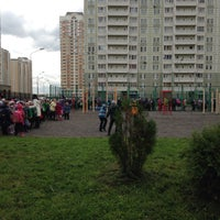 Photo taken at школа #14 by Anastasiya L. on 10/2/2015