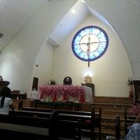 Photo taken at Gereja Katolik Katedral by Anton R. on 2/2/2014
