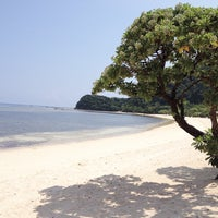 Photo taken at Anguib Beach by Jozanne B. on 5/6/2015