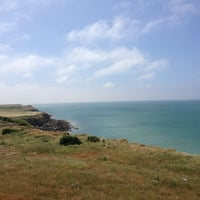 Photo taken at Cap Gris Nez by Pierre V. on 7/20/2013