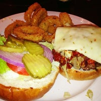 Photo taken at Boomerangs Gourmet Burger Joint by Roger M. on 12/15/2012
