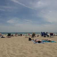 Photo taken at Bournemouth Beach by Bobby S. on 6/4/2013
