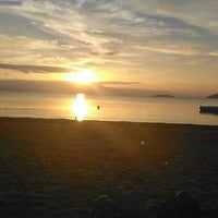 Photo taken at Plaj by Murat Z. on 10/18/2015