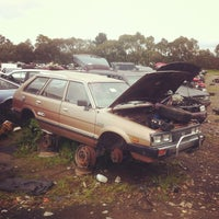 Photo taken at Pick A Part Wreckers by Jake S. on 10/27/2013