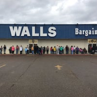 Photo taken at Walls Bargain Center by Keith K. on 12/17/2016