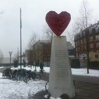Photo taken at Aksel Larsens Plads by Louise H. on 2/15/2013