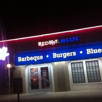Photo taken at Red Hot & Blue  -  Barbecue, Burgers & Blues by Nena M. on 12/22/2012