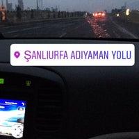 Photo taken at Şanlıurfa - Adıyaman Yolu by Hüseyin Ö. on 3/3/2017