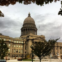 Photo taken at Idaho State Capitol by Jim L. on 10/28/2012